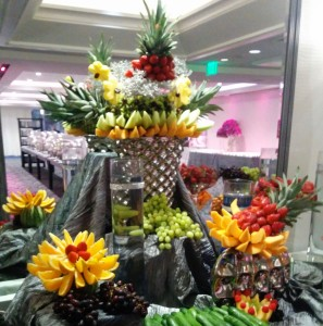 wedding-fruit-station Azi centerpiece from left