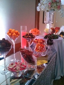wedding fruit station 6