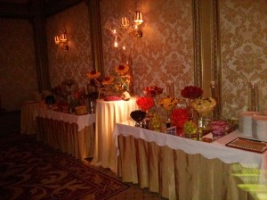 wedding fruit station 7